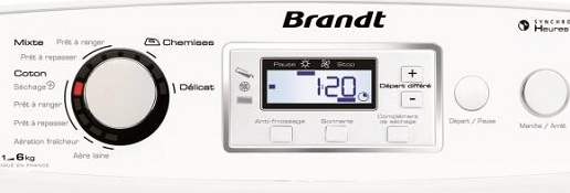 Brandt - ETE 6336F - Interface de commande