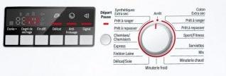 Sèche Linge Bosch - WTA74200FF - Interface de commande