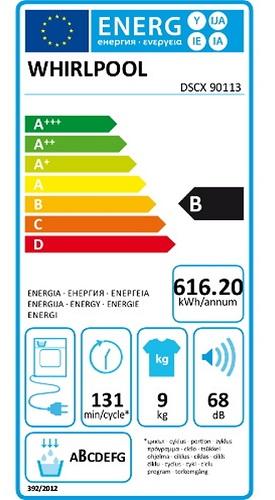 Sèche Linge Whirlpool - DSCX90113 - Label Energie