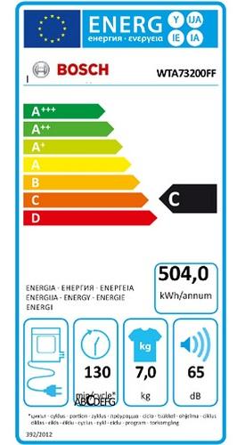 Sèche Linge Bosch - WTA73200FF - Label Energie